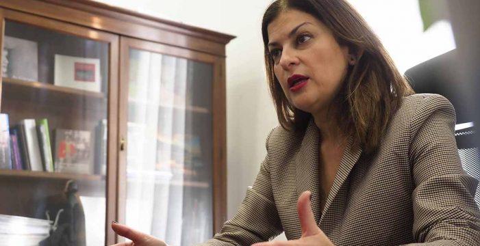"""Zambudio, convencida de que Evelyn Alonso acatará las órdenes del partido y """"trabajará por la estabilidad"""""""