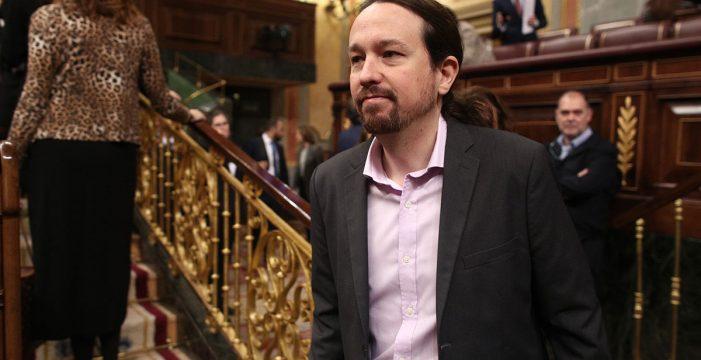 Pablo Iglesias no reconoce a Guaidó como presidente de la Asamblea
