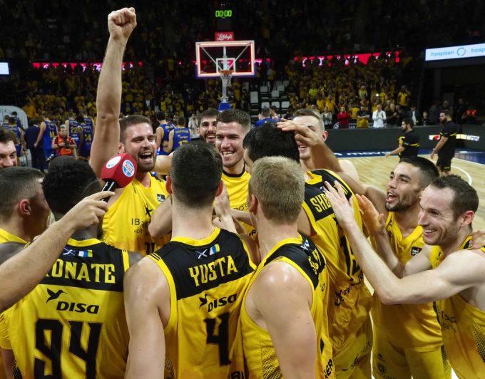 El Oostende, rival del Iberostar Tenerife en octavos de la Champions