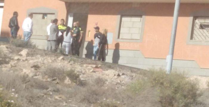 Los okupas de San Isidro se 'atrincheran' en el edificio ante el temor al desalojo