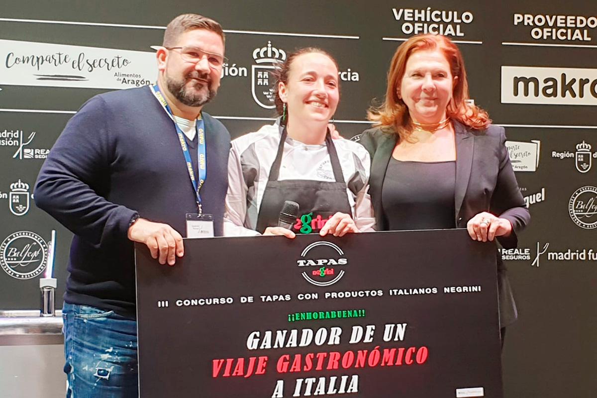 Cristina Torrens gana el III Concurso de Tapas con ingredientes italianos