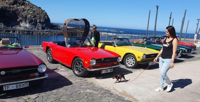 El amor por los clásicos del motor llega hasta Garachico