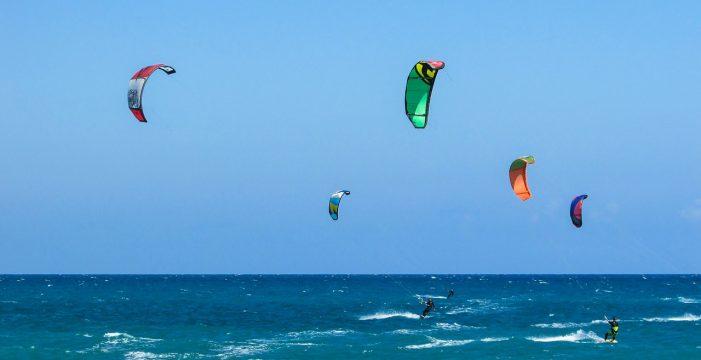 Muere el kitesurfista que sufrió un accidente ayer en Gran Canaria