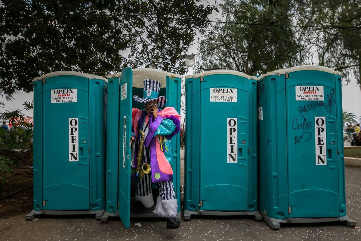 Se han solicitado 281 baños portátiles para todo el Carnaval. DA