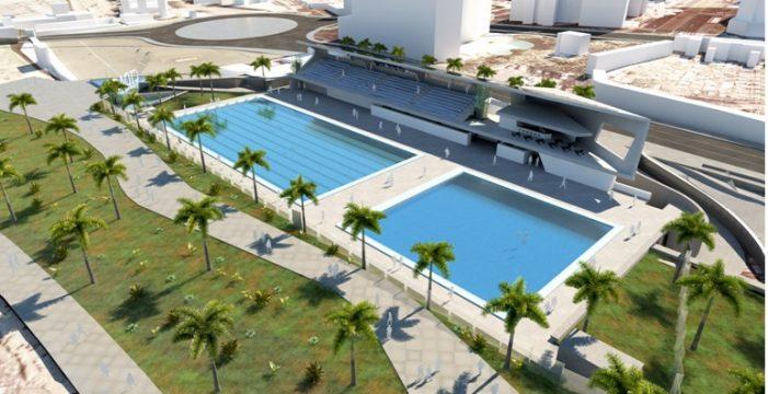Cuatro empresas presentan sus ofertas para construir el Centro Insular de Natación