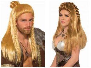 Disfraces de vikingos. Carolan