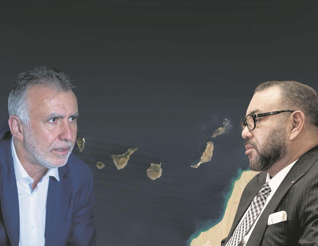 """El presidente del Gobierno canario, Ángel Víctor Torres, ya advirtió al régimen de Mohamed VI de que las aguas canarias """"no se tocan"""", ante su pretensión de una delimitación unilateral."""