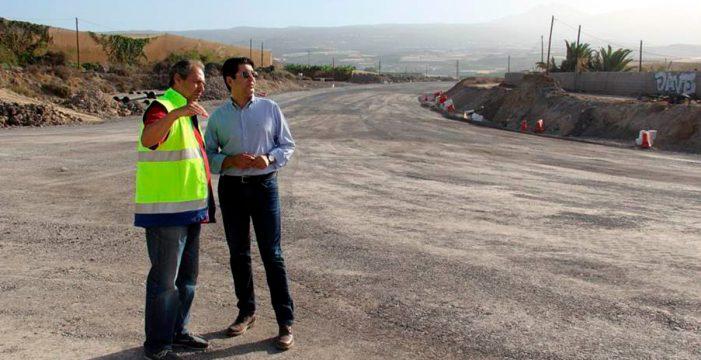 Tres años del ramal de Fonsalía, la vía que unió la costa y las medianías