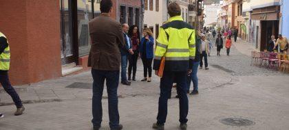 Abierta la renovada calle Anselmo Pérez de Brito en plena Zona Comercial Abierta