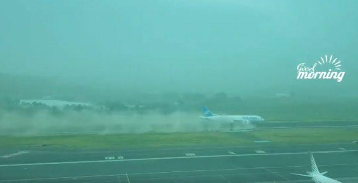 Los dos impactantes vídeos que te ayudarán a entender mejor la magnitud de la tormenta de calima en Canarias
