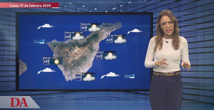 La previsión del tiempo en Canarias del lunes, 17 de febrero