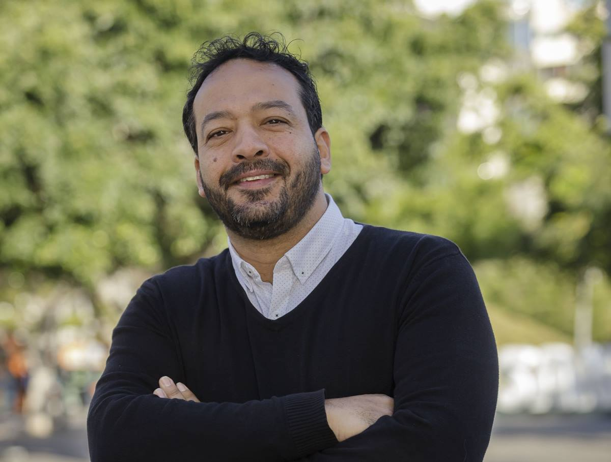 David Carballo, consejero de Sí Podemos en el Cabildo de Tenerife. DA