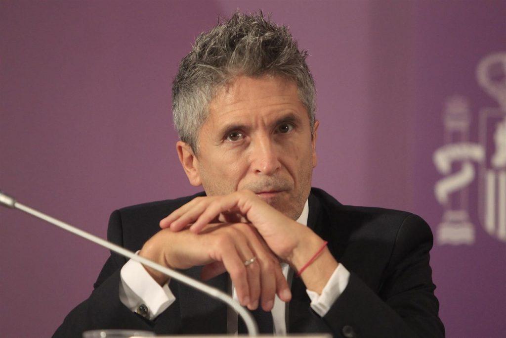 El ministro del Interior, Fernando Grande-Marlaska. D.A