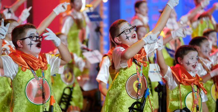 Segunda fase del Concurso de Murgas Infantiles del Carnaval de Santa Cruz