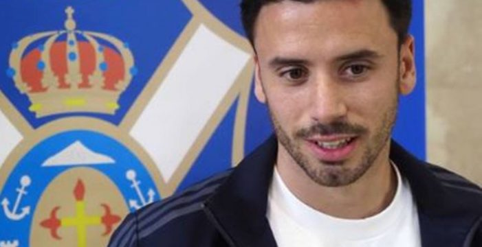 Javi Muñoz se muestra deseoso de poder jugar ya en Almendralejo