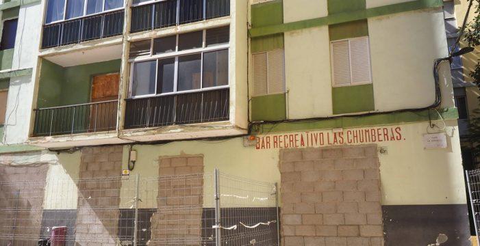 Urbanismo ordena el desalojo temporal de 16 bloques de Las Chumberas