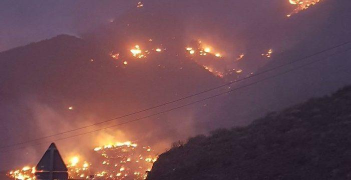 Estabilizado el incendio de Tasarte