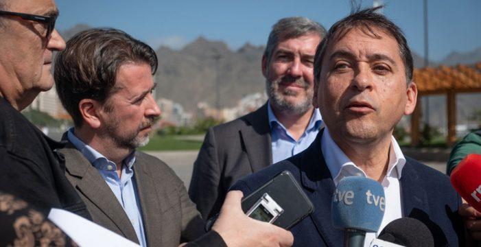 CC y el PSOE polemizan sobre las obras del enlace puerto-ciudad de Santa Cruz