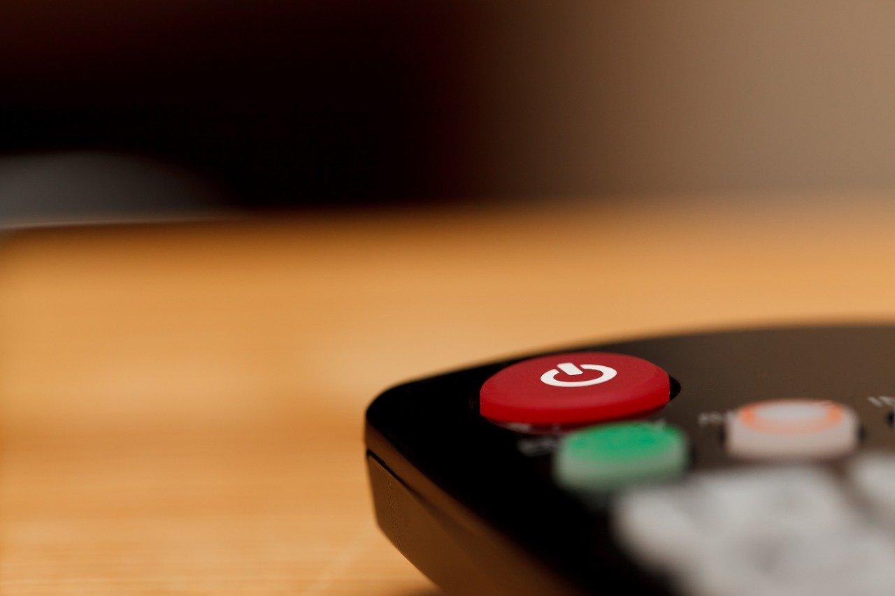 Mando de televisión. Pixabay
