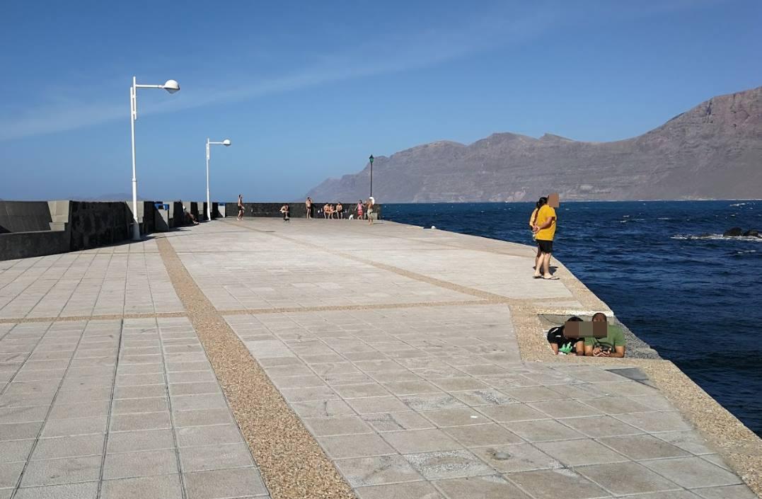 Muelle de Playa Famara. Google Maps (Mike Danko)