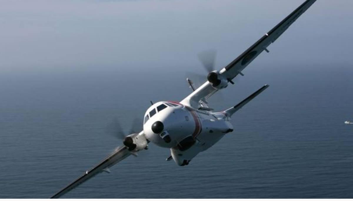 Avión Salvamento Marítimo. EP