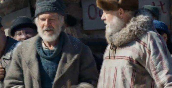 Harrison Ford lidera la cartelera con la aventura 'La llamada de lo salvaje'
