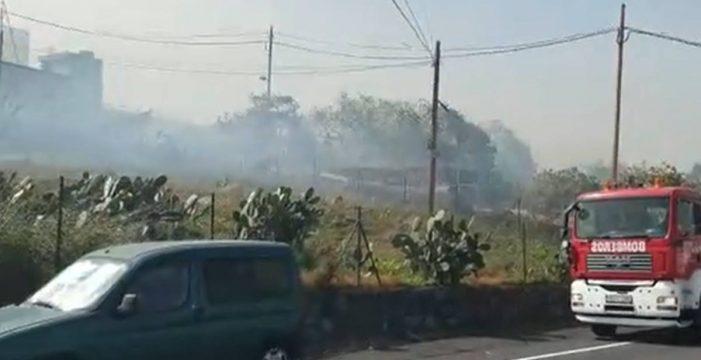Controlado el conato de incendio en Las Candias