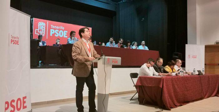 El PSOE de Tenerife respalda de forma unánime la gestión de la ejecutiva de Pedro Martín