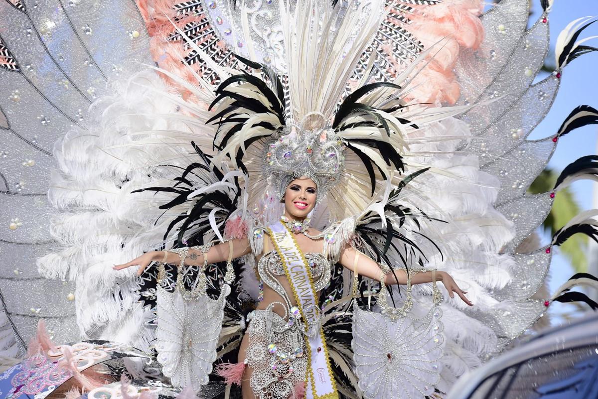 El coso pone la guinda al Carnaval Internacional del Puerto de la Cruz