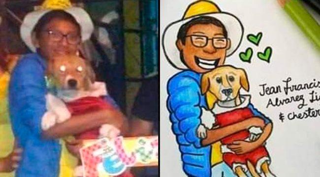 Muere Jean Francis, el niño de 13 años que rescató a su perro de un incendio