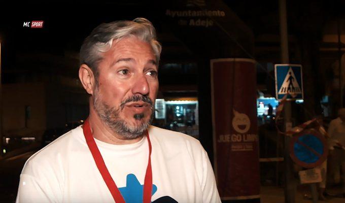 Entrevista a Jesús Santos organizador de la Carrera Nocturna de la Caleta de Adeje