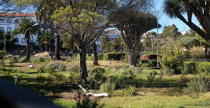 La ULL cede a La Laguna el jardín del campus central por 20 años