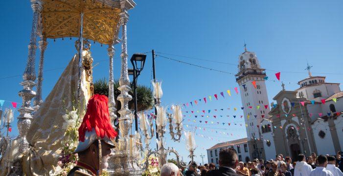 La Patrona celebra su día en el 'veranillo de las candelas'
