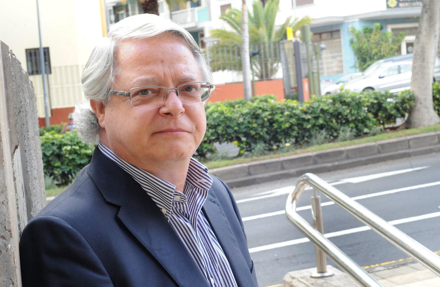 El gerente del Consorcio, Fernando Senante. DA