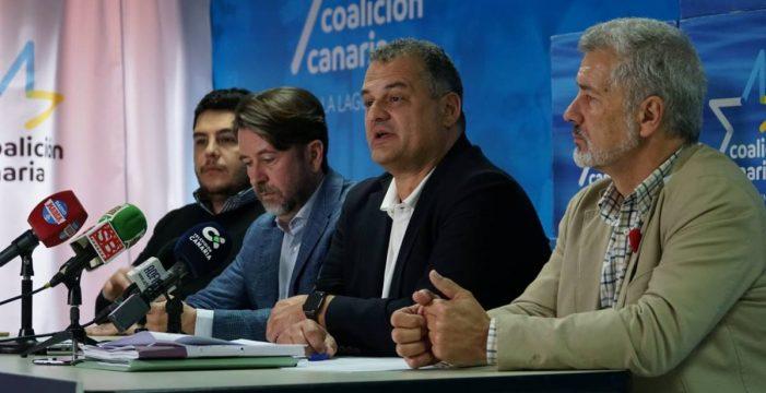 Coalición Canaria pide la paralización del proyecto de circunvalación de La Laguna