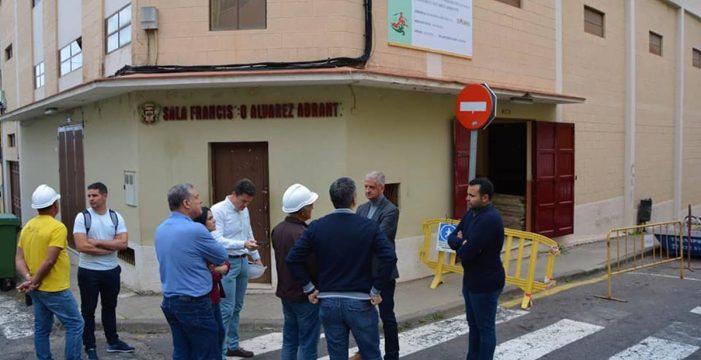 El nuevo auditorio de La Perdoma estará terminado en el mes de septiembre