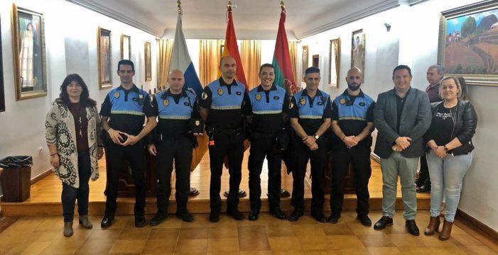 El Ayuntamiento de Arona refuerza la Policía Local con seis oficiales en prácticas