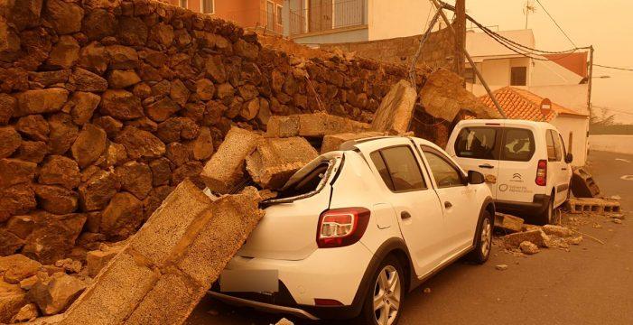 Los daños se multiplican por toda la Isla de Tenerife
