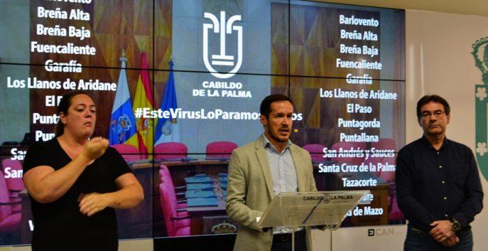 El Cabildo desembolsa 3 millones de euros para el pago de facturas como atenuante de la crisis económica insular