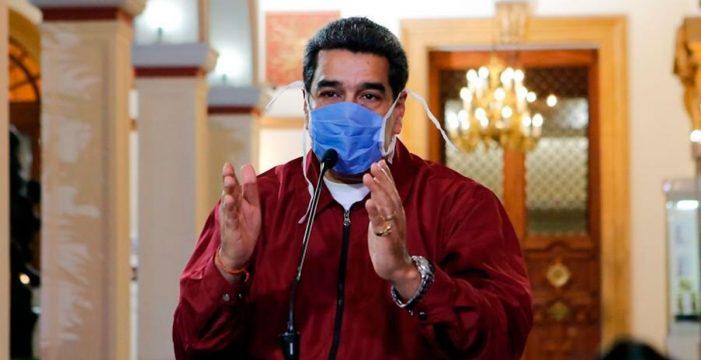 """Twitter borra un tuit a Maduro por difundir información falsa y una """"cura natural"""" para el coronavirus"""