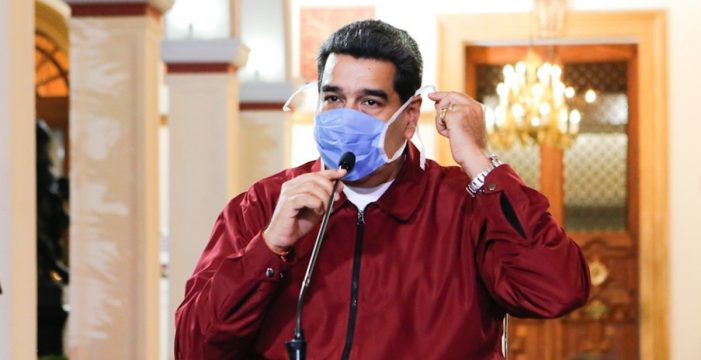 """Maduro declara una """"cuarentena social"""" para todo el país para evitar la propagación del coronavirus"""