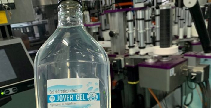 Destilería de Tejina inicia la fabricación de hidrogel