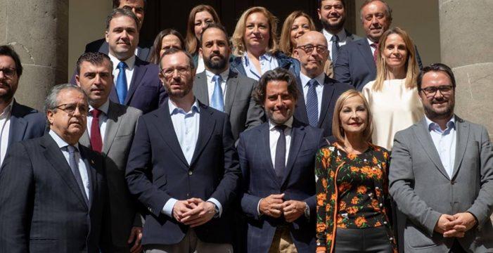 Antonio Alarcó, elegido presidente del grupo territorial del PP de Canarias en el Senado
