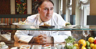 José Andrés, chef, candidato al premio Nobel y portada de Time