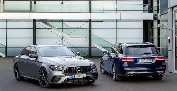El nuevo Mercedes-AMG E 53 4MATIC+ tiene una actualización exhaustiva