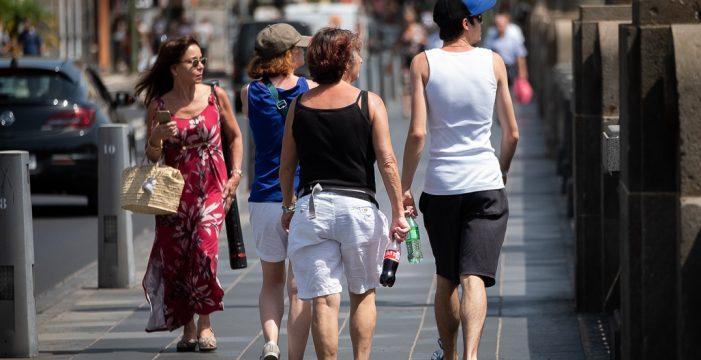 Mañana, más calor: se alcanzarán los 32 grados en Canarias