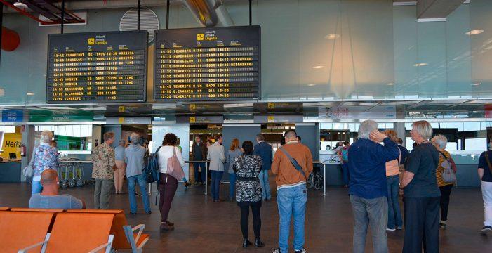 Las autoridades sanitarias tratan de localizar a los viajeros del IMSERSO destino Gandía que regresaron a La Palma el 11 de marzo
