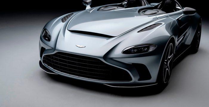 Aston Martin pone a la venta su exclusivo y espectacular V12 Speedster