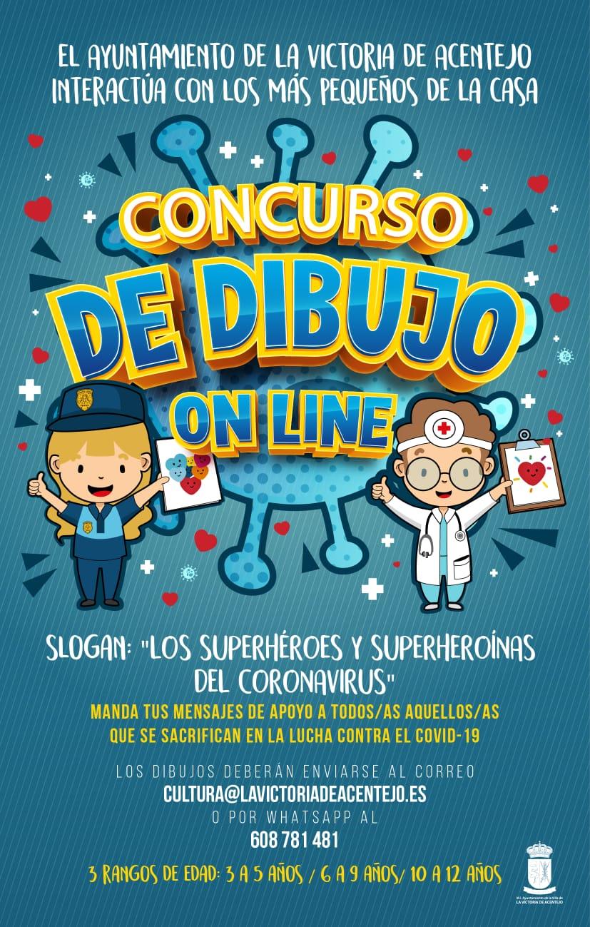 Cartel del concurso convocado por el Ayuntamiento de La Victoria de Acentejo
