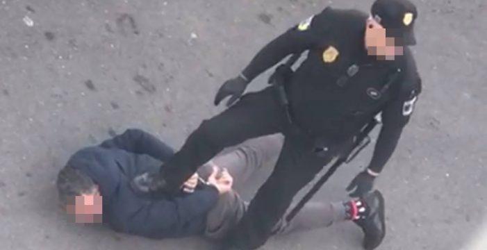 Polémica detención de un transeúnte en Santa Cruz